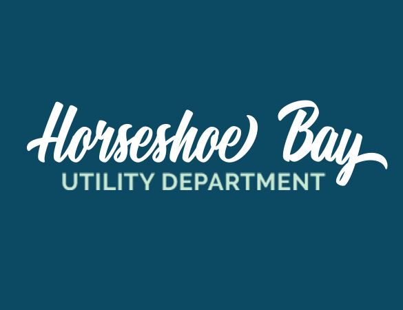 Horseshoe Bay Utility Department Logo