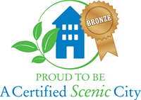 Proud to be a certified scenic city