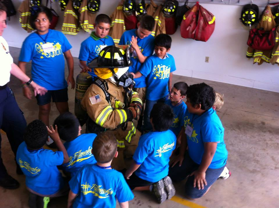 fire prevention with camp