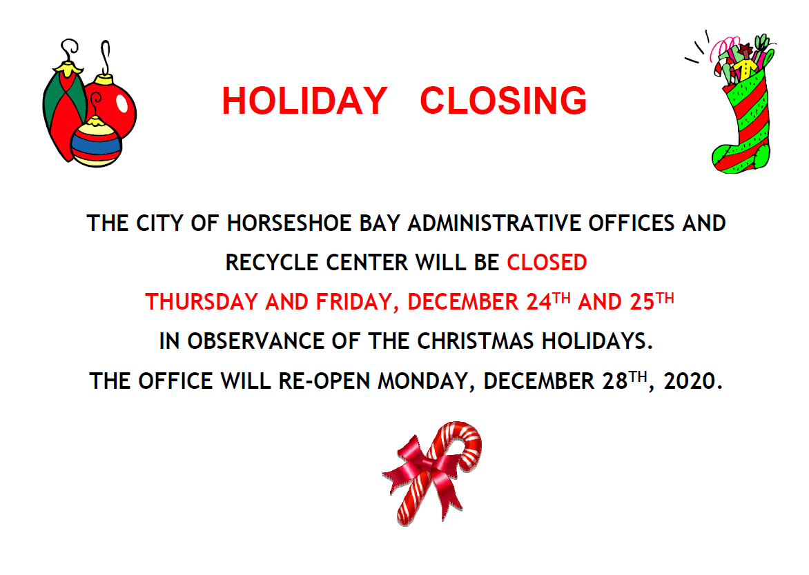 City Holiday - Offices Closed
